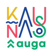 KAUNAS_AUGA_logotipai RGB_Kaunas auga originalus